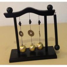 Gong con Base de Madera