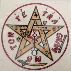 Calcomanía Tetragrammaton Grande