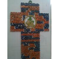 Cruz de Madera Padre Nuestro (EDICIÓN ÚNICA)